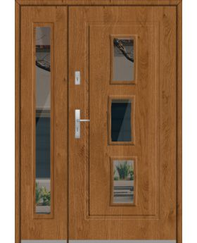 Fargo 16DB - stainless steel front door  with side panel