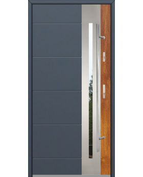 Fargo 26 DUO - stainless steel front door