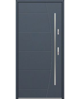 Fargo 26G - stainless steel front door