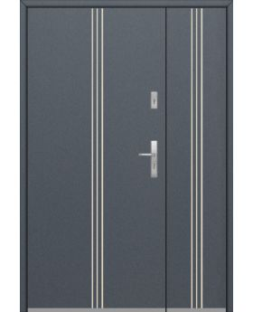 Fargo 32 DB - entrance door with side panels
