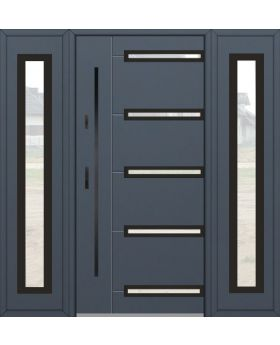 Fargo 39A T - front door with two side panels