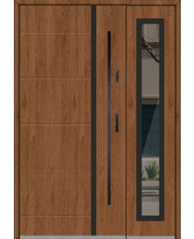 Fargo 41 DB - front door with side panel