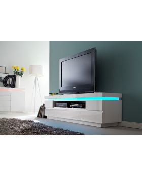 Ocean typ 82 - white tv stand