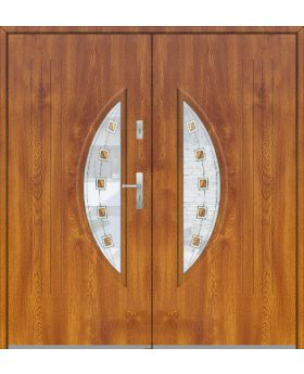 Fargo 7 double - double front entry glazed door