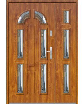 Fargo 9B DB - front doors with side panels