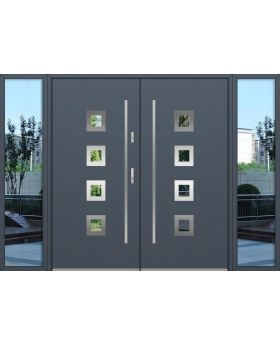 custom configuration - Fargo double door with left and right sidelights