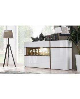 SB Chandler - contemporary white sideboard