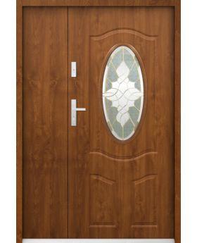 Sta Lupus Uno - classic external entrance door with side panel