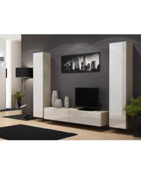 Seattle D7 - contemporary entertainment center