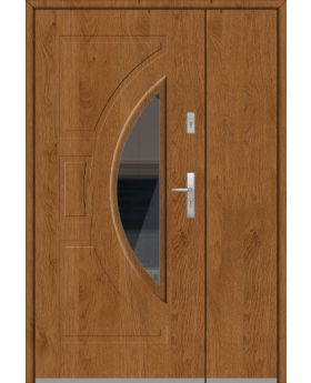 Fargo 10 DB - house front door with side panel