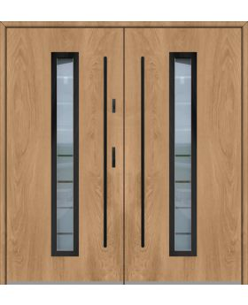 Fargo 12 double - double front entry door