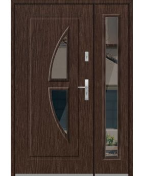 Fargo 15DB - stainless steel front door with side panel