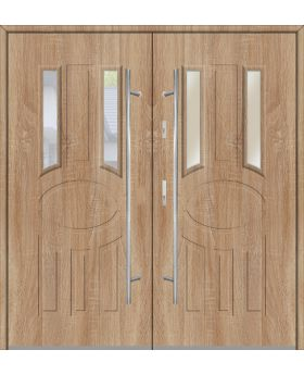 Fargo 33A double - double front doors / french doors