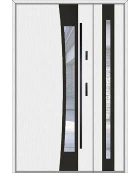 Fargo 37A DB - stainless steel front door with side panel