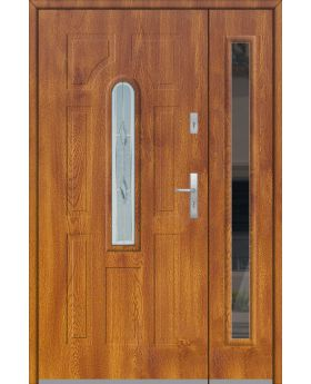 Fargo 5 DB - front doors with side panel