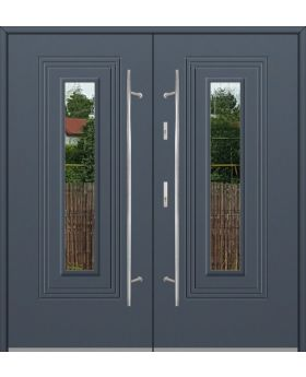 Fargo 6 double - double glazed front doors / entrance door