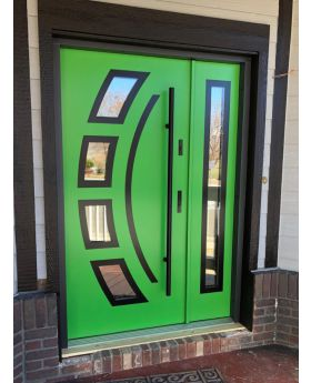 Fargo 21 DB - exterior front entry door with sidepanel
