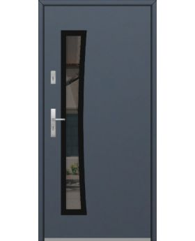 Fargo GD02B - solid metal door