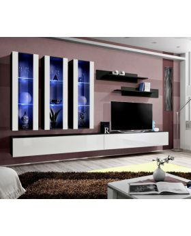 Idea E4 - modern tv wall unit