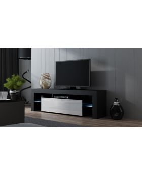Milano 160 width modern TV stand with led