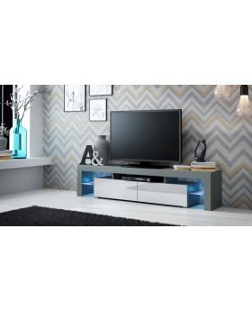 Milano 200 - grey modern TV stand