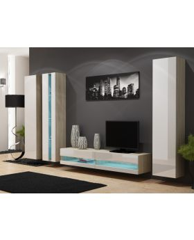 Seattle D3 - modern tv wall unit